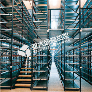 成品仓储重型阁楼货架